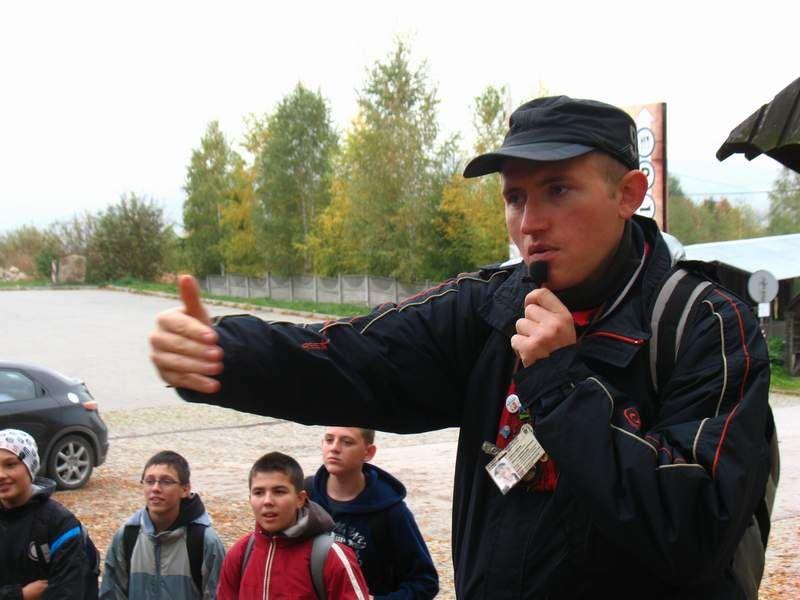 Andrzej Niedbała przewodnik świętokrzyski